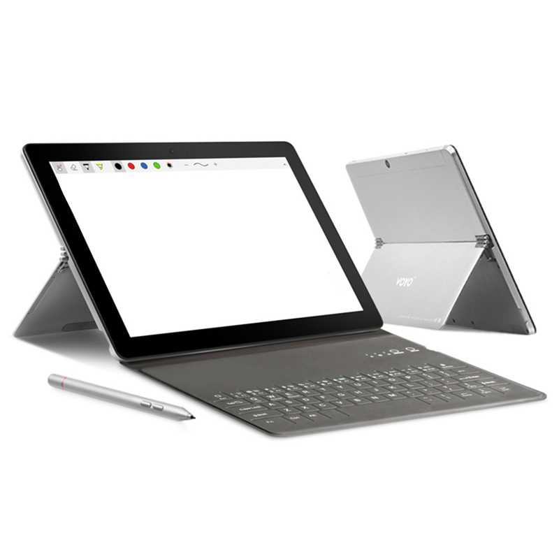 Voyo I8 Max LTE Tablet Android 7.1 10.1 Inch Mtk6797 Deca Core 4 GB + 64 GB 13Mp 4G Panggilan Telepon Tablet PC OTG Dual Sim GPS