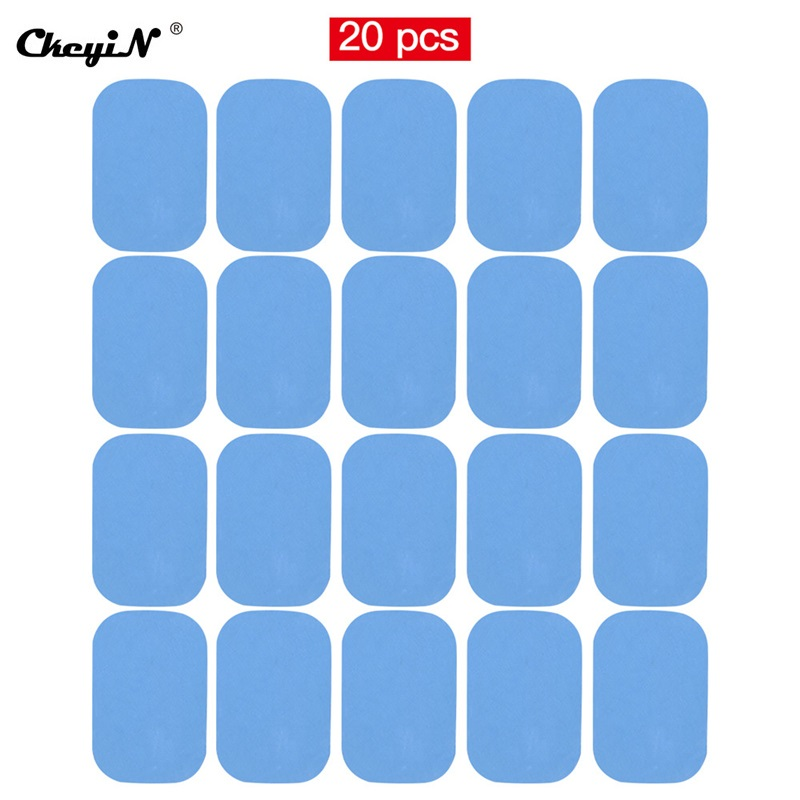 10x Hydrogel Gel Pad for EMS ABS Trainer Weight Loss Abdominal Muscle Stimulator