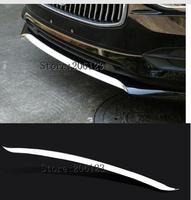 For Volvo S90 2016 2017 2018 stainless steel Front bumper lips cover trim strips Car Styling Accessories 1pcs