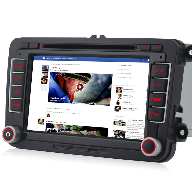 a sure car dvd radio player navi gps for vw passat b6. Black Bedroom Furniture Sets. Home Design Ideas