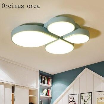 Moderne minimalistischen kreative LED decke lampe wohnzimmer ...