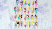 New Mixed 12pcs/set Cute Polly Pockets Girl Doll Figures 9-12cm For Best Christmas Gifts