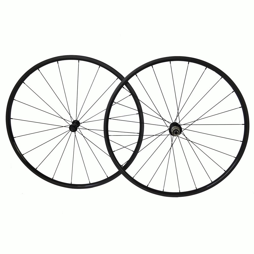 700c carbon wheelset 20mm road bike wheels with Powerway