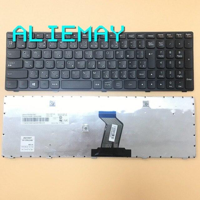JA JAPÃO do laptop Original para LENOVO IdeaPad G500 G510 G505 G700 G710 MP-12P80J0686 JP layout teclado Preto