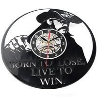Vinyl Record Wall Clock Modern Design Theme Art Watch Classic Clock Super Cool CD Antique Wall Clock
