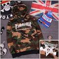 camouflag thrasher hoodie sweatshirt women camo hoodies men sweatshirts streetwear hip hop bts trasher palace skateboard