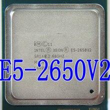 Процессор Intel Xeon E5-2650 V2 E5 2650 V2 cpu 2,6 GHZ LGA 2011 SR1A8 Восьмиядерный процессор для настольных ПК e5 2650V2 может работать