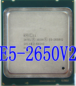 Image 1 - Intel Xeon Processor E5 2650 V2 E5 2650 V2 CPU 2.6GHZ  LGA 2011 SR1A8 Octa Core Desktop processor e5 2650V2  can work