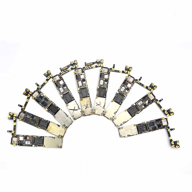PHONEFIX Used Junk Motherboard Repair Skill Training Damaged Logic Board For IPhone 5S 6 6P 6S 6SP 7 7P + Read Describe