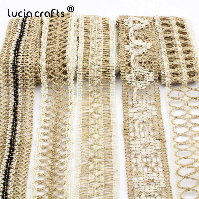 New Style Hessian Burlap Jute Braid Cotton Ribbon Trim Upholstery Craft 2016