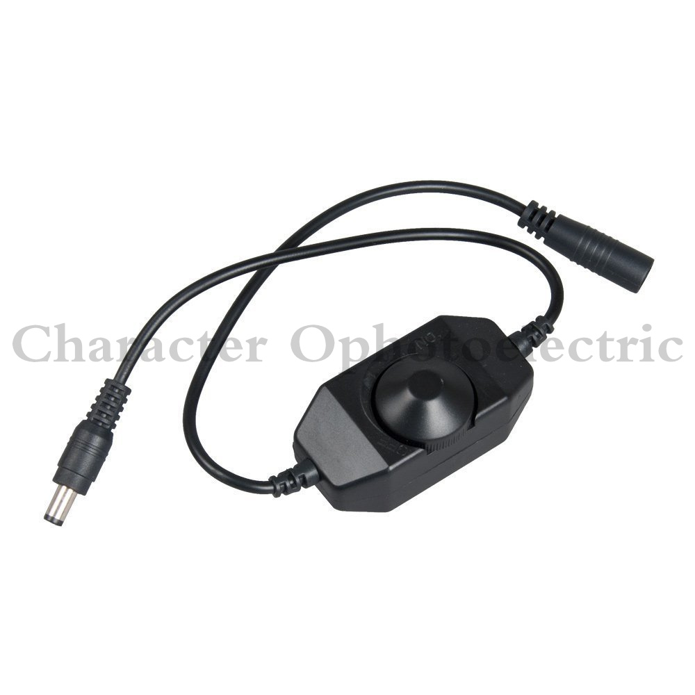 Gentle Mini Led Brightness Adjust Switch Dimmer Controller For 3528 5050 5630 Single Color Led Strip Light Led Dimmer 12v,24v At Any Cost Lights & Lighting