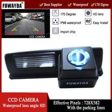 Fuwayda LED Ночное видение водонепроницаемые HD CCD автомобиля заднего вида Камера для toyota harrier altezza Пикник Эхо Verso Camry