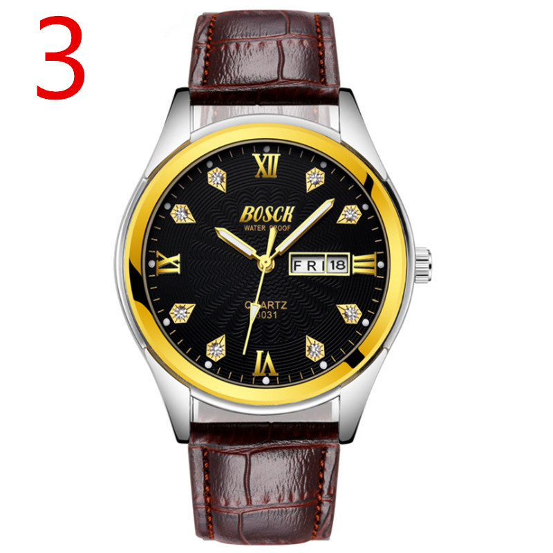 wu's 2018 new luminous watch men's multi-function sports quartz watch student men's watch цена