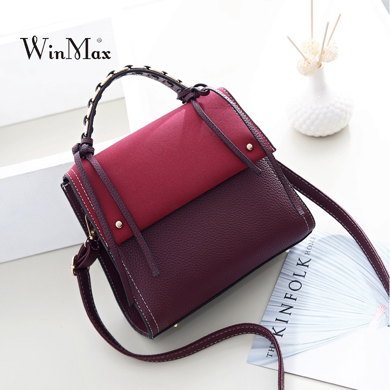 New Women PU Leather Handbags Weaving Vintage Shoulder Bag Female Crossbody Bags High Quality Ladies Bolsa Feminina sac a main new fashion women bags women s solid pu leather handbags cross body shoulder bags female vintage messenger bag bolsa feminina
