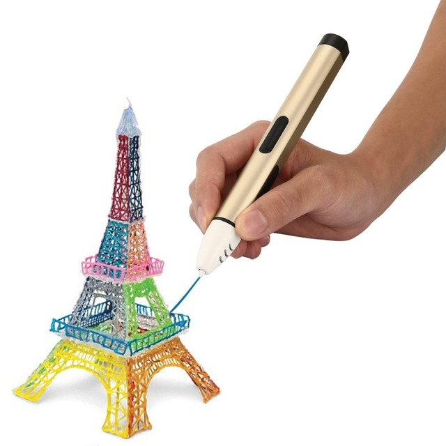 LESHP 3D Printing Pen with OLED Display for 1.75mm PCL Filament Refills Low