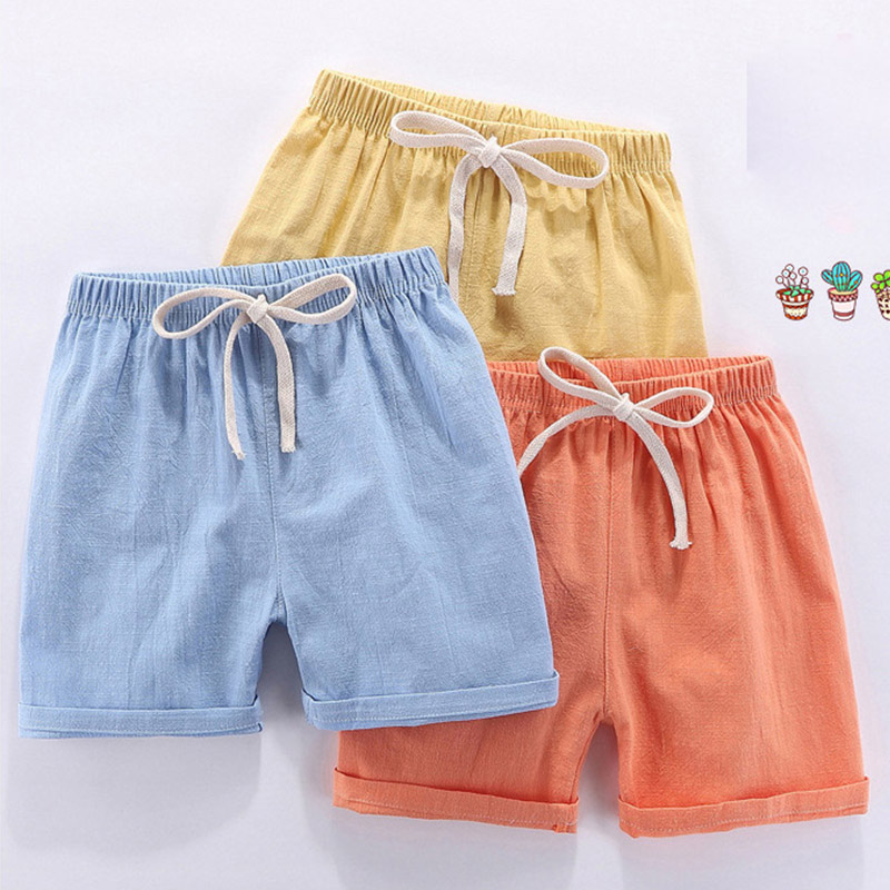 Amya Baby Girls   Shorts   2019 Summer Elastic Waist Loose Toddler Boy   Shorts   Fashion Kids Beach   Shorts   Boys Girls   Short   Pants