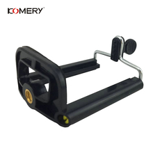 KOMERY Mobile Phone Clip Universal Tripod Adapts To Various Tripods/Camera Tripods For phone