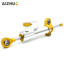 Universal Motorcycle Damper Steering Stabilize Safety Control Aluminum For ducati 748 749 848 695 696 999 1098 S4RS 900SS GT1000 nicecnc steering stabilizer damper for bmw s1000rr r800gs r1200gs ducati 749 999 hypermotard 796 821 848 1098 monster 696 1100