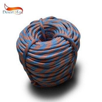 Desert & Fox 100 m/Pack corde d'escalade en plein air corde d'urgence résistant à l'usure haute résistance randonnée accessoire outil