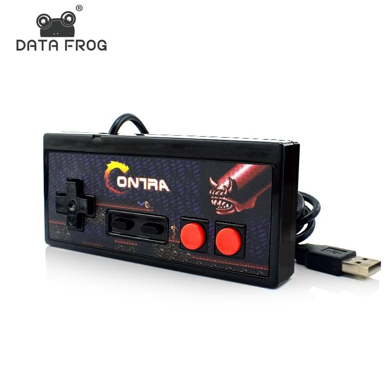 DATA FROG Classic Wired USB Game Gamepad Retro Controller JoyStick For Mac For Windows 1 ...