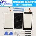 K4000 Oukitel Pro Display LCD + de Tela de Toque Original de 100% Testado LCD + Digitador Substituição Do Painel de Vidro Para Oukitel K4000 Pro