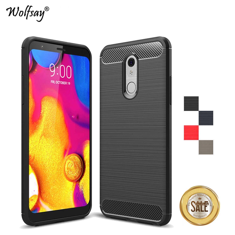 Для LG Stylo 5 чехол противоударный чехол Стиль мягкий резиновый броня силиконовый бампер для телефона LG Stylo 5 чехол для LG Stylo 5 Fundas
