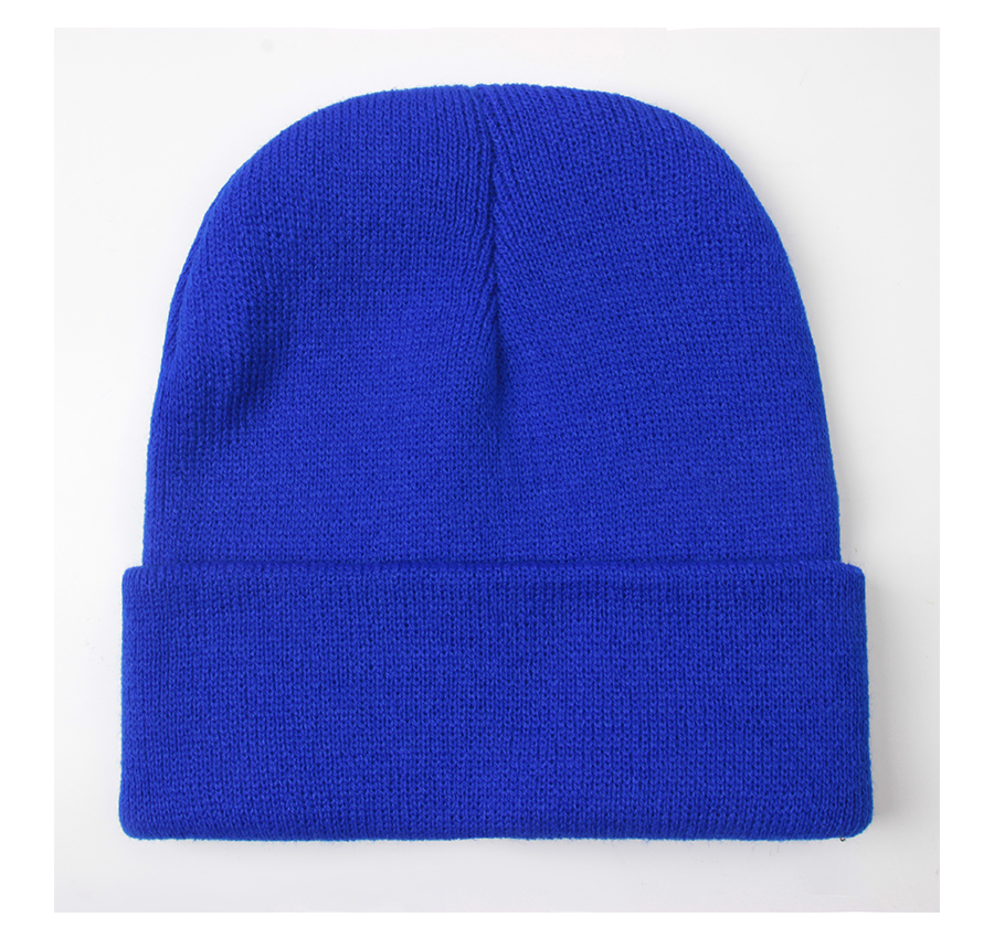 HTB146Vym qWBKNjSZFxq6ApLpXax - Solid Unisex Beanie Autumn Winter Wool Blends Soft Warm Knitted Cap Men Women SkullCap Hats Gorro Ski Caps 24 Colors Beanies