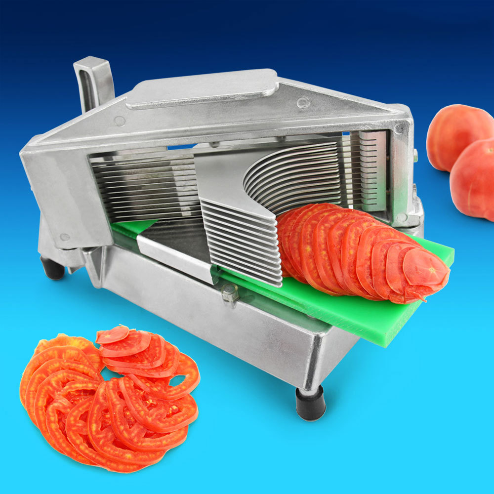 hot sale durable stainless steel commercial manual tomato slicer multi chopper slicing cutter machine kitchen tools