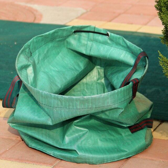 Gardzen 3 Pack Garden Bag Reuseable Heavy Duty Gardening Bags Lawn Pool Leaf Waste