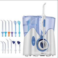 H2ofloss 800 ml Oral irrigator Water Flosser FLOSS teeth in the shower of the cleaning machine of low noise Water jetting toothb