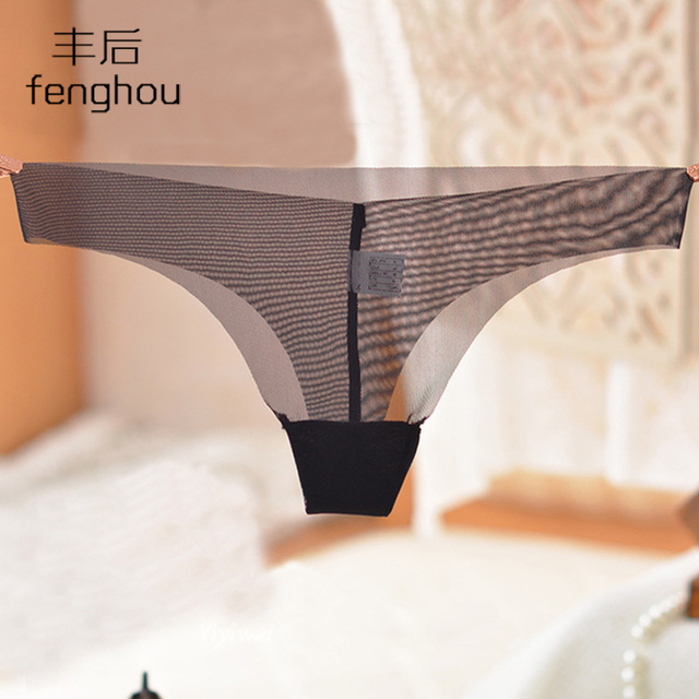 T-back thin gauze underwear one-piece seamless