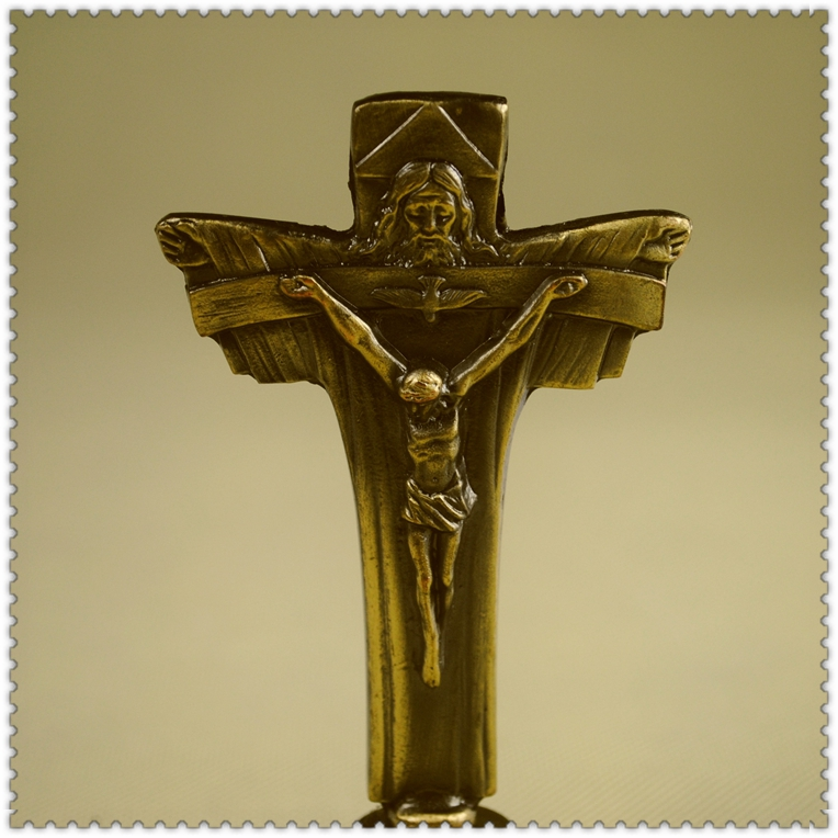 Jesus christ catholic icon crucifix metal cross decoration ...