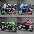 1:12 DIECAST METAL MODELO JUGUETES de SONIDO y LUCES S1000RR MOTORCYCLE SPORT BIKE REPLICA