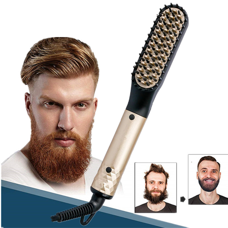 Hair Straightening Comb Curly Hair Straightening Brushes Comb Mens Hair Styler Multifunctional 15 Seconds Quick Heat BrushHair Straightening Comb Curly Hair Straightening Brushes Comb Mens Hair Styler Multifunctional 15 Seconds Quick Heat Brush