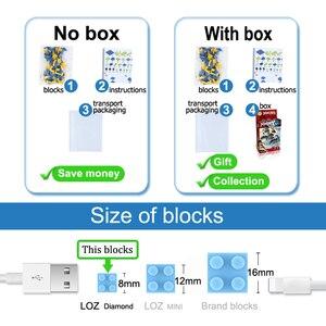 Image 5 - LOZ juguete de bloques de construcción Arale Dr Slump, juguete de figuras de acción, modelo de diamante, juguetes, 700 Uds., regalo para niños de 14 años + oficial autorizado