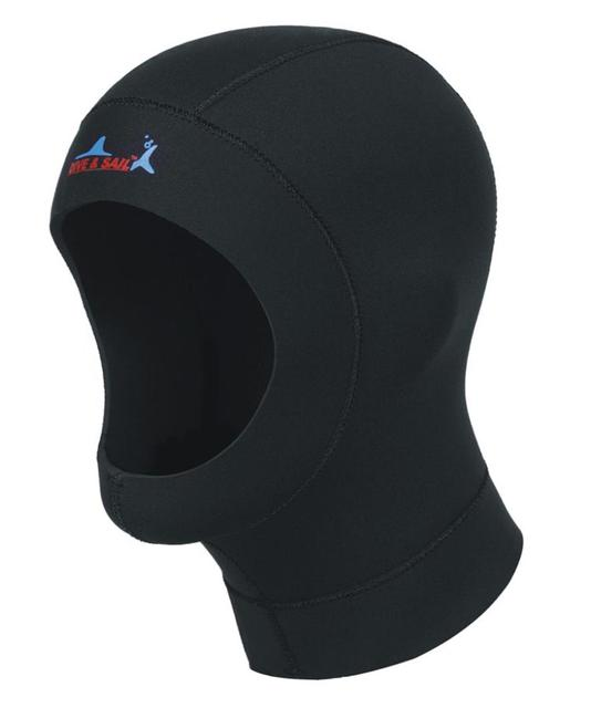 9549e4010fb Free Shipping neoprene diving hat professional uniex NCR fabric swimming  cap winter cold-proof wetsuits