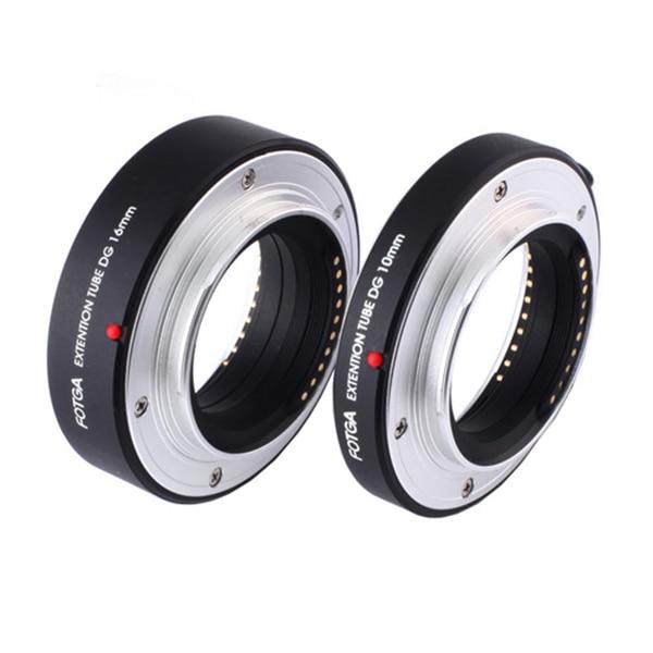 FOTGA Auto Focus AF tubo de extensión macro DG juego 10 mm 16 mm - Cámara y foto - foto 4