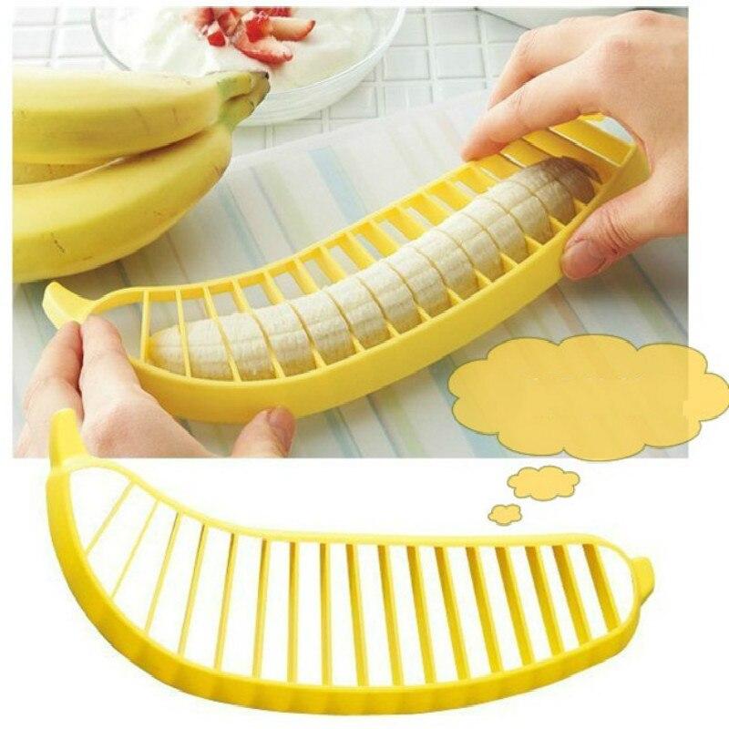 Banana cutter new offers creative Home Furnishing cutter cut fruit is banana banana wholesale