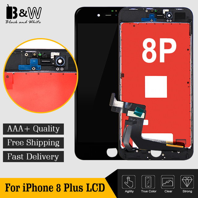 US $180 0 |10pcs/lot China Alibaba Display Pantalla Clone 5 5 inches For  iPhone 8 Plus LCD Screen with Touch Screen Assembly Replacement-in Mobile