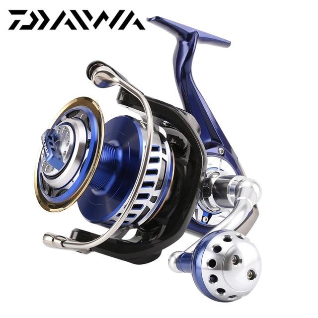 Original Daiwa 2014 SALTIGA 8000H Mag Sealed Spinning Reel 875g 5.7:1 Max Drag 30kg 13BB Zaion Air Rotor Saltwater Fishing Wheel