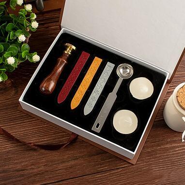 The wax seal gift set, Twilight / Harry Potter / English greetings pattern, retro wax popupshop popupshop seal 28437019