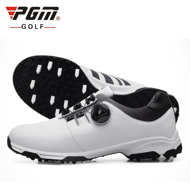 PGM Golf Shoes Mens Golf Sneakers Sports Four Seasons Waterproof Men Activities Professional Training Shoes A957 junior republic junior republic