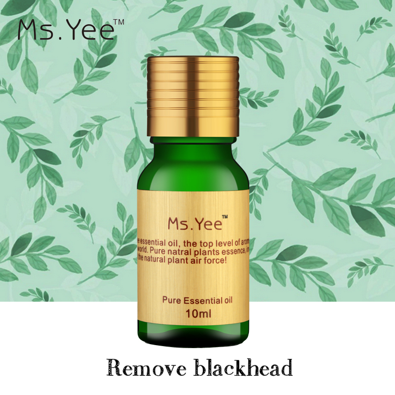 Oczyść pory i sklaruj skórę Ms. Yee 100% czysty związek olejku Usuń zaskórniki Martwe komórki skóry słynny oczyszczający oleje X13