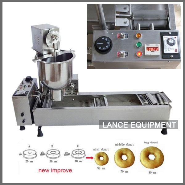 free shipping mini donut making machine automatic mini donut fryer donut making equipment in. Black Bedroom Furniture Sets. Home Design Ideas