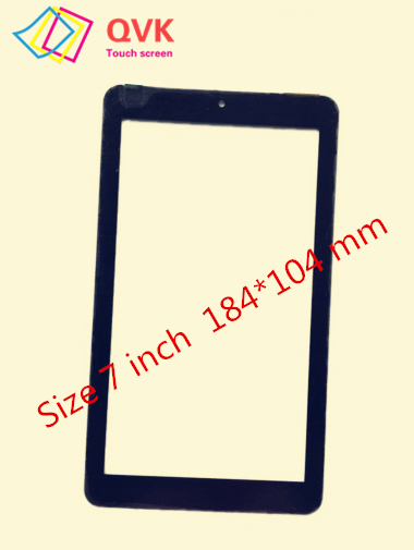 Black White For SPC FLOW 7 9742108N Capacitive Touch Screen Panel Repair Replacement Spare Parts Free Shipping