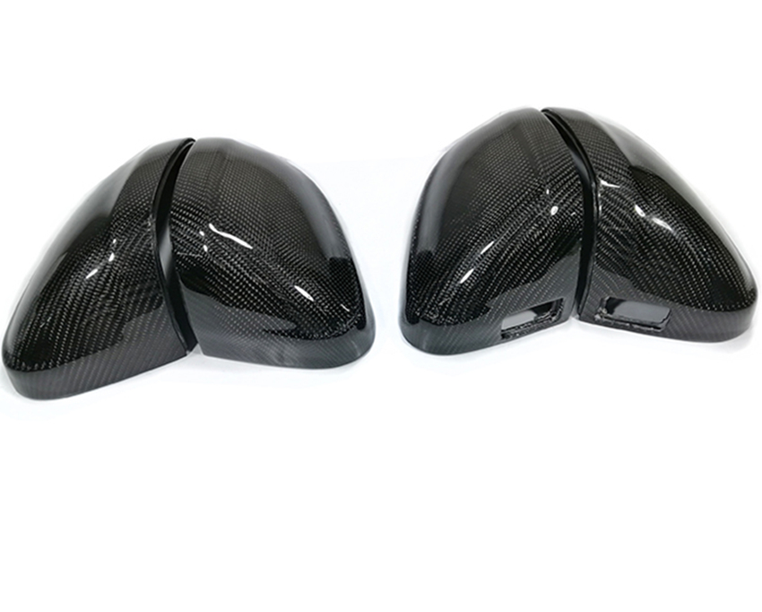 Audi A4 B9 S4 A5 S5 With Lane Assist Carbon Fiber Rear-view Mirror Cover for 16