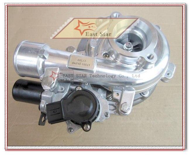 CT16V 17201-OL040 17201-30110 Turbo With Solenoid Valve Electric Actuator For TOYOTA HILUX SW4 Landcruiser VIGO3000 1KD-FTV 3.0L (1)