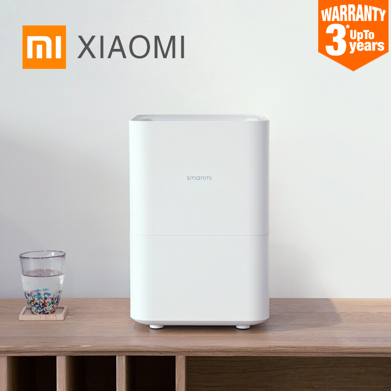 XIAOMI MIJIA SMARTMI Evaporative Humidifier 2 for home Air dampener Aroma diffuser essential oil mist maker mijia APP Control wood