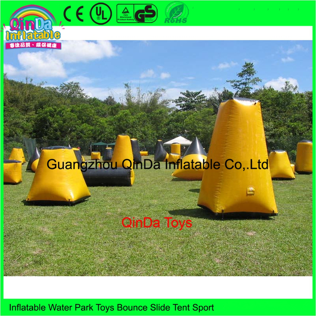 Online Buy Wholesale inflatable paintball bunkers, millennium field paintball bunket set for sale