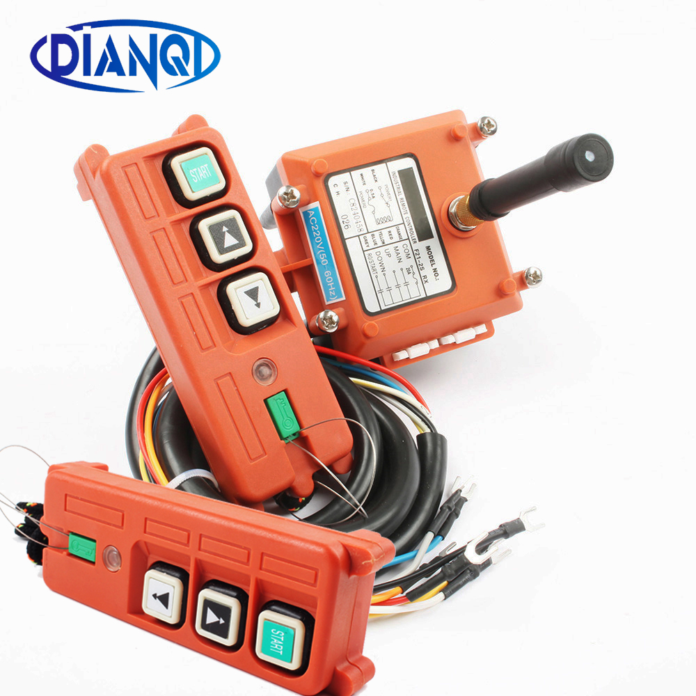 FLASH SALE] 1 Transmitter 4 Channels 1 Speed Control Hoist